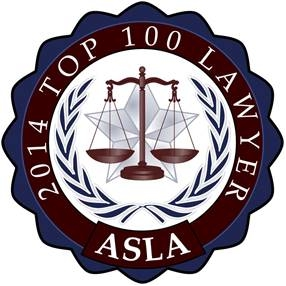 2014 Top 100 Lawyer ASLA